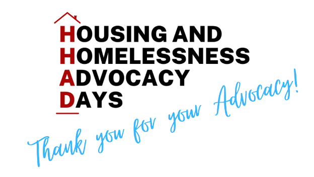 HHAD Thank you for your advocacy Graphic
