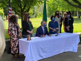 Inslee signing bills