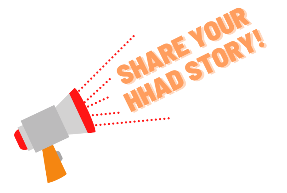 Share your story! Graphic